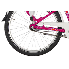 Vélo Puky Skyride Light Alu - Pour enfants - 24'', 3 vitesses - Berry